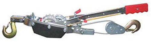 Hand-Seilzug mit Ratsche, mit 3 Meter Seil, ø 5mm, max. Zuglast 2.000kg