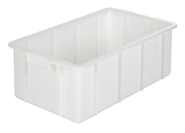 Muschelgriff-Stapelkasten, Inhalt 35 Liter