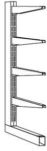 End-Seitenständer, Serie B-KL