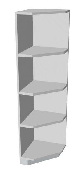Abschluss-Eckregal rechts 4 Ordnerhöhen Serie dataline
