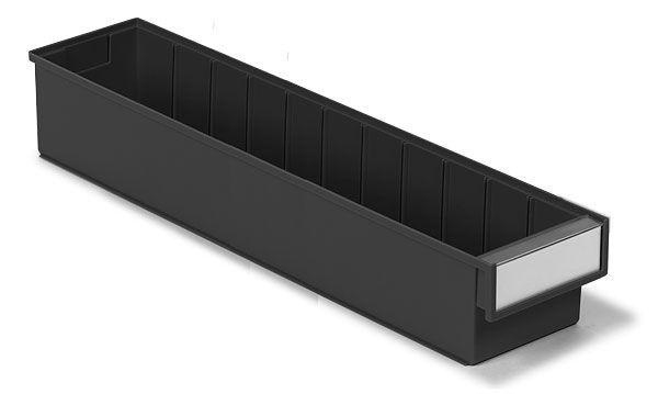 Kunststoff-Schubkasten, ESD, 132x600x100mm