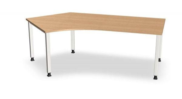 Kompakt-Schreibtisch, Winkel links, Serie dataline-QS