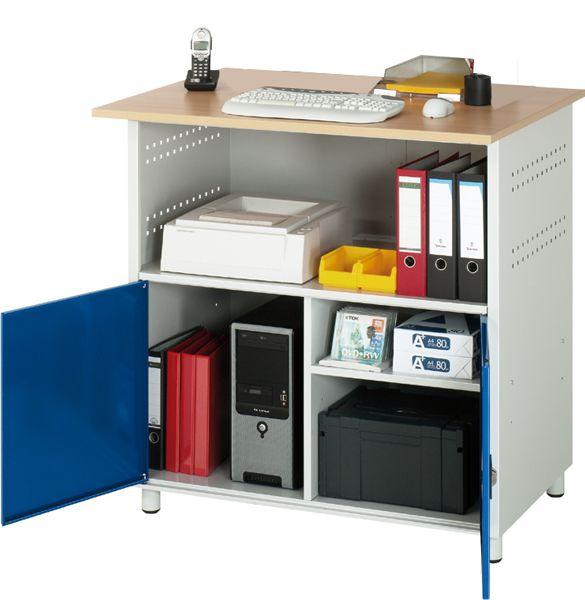 Computer-Tisch Typ 1 stationär