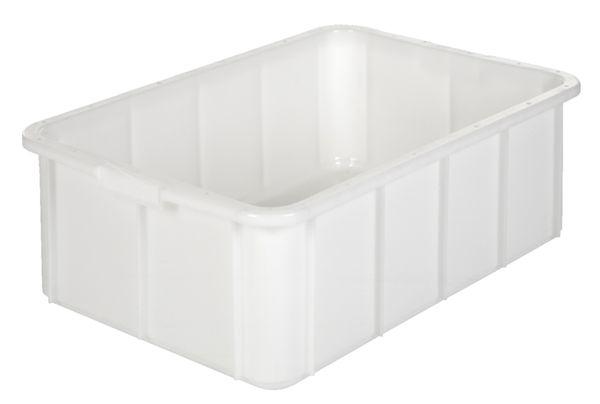 Muschelgriff-Stapelkasten, Inhalt 50 Liter