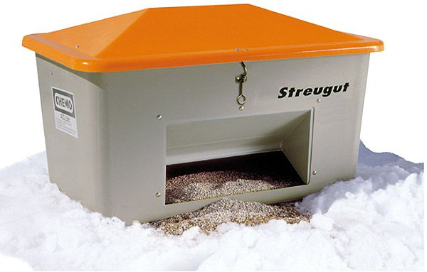 Streugutbox plus, mit Entnahmeöffnung