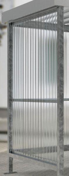 Well-Polycarbonat-Seitenwand