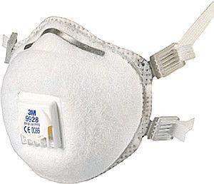 3M Atemschutzmaske, Schweißermaske, FFP2-blau, weiß