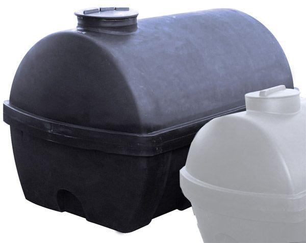 Universaltank, 1500 l, schwarz, 1850x1120x1130mm