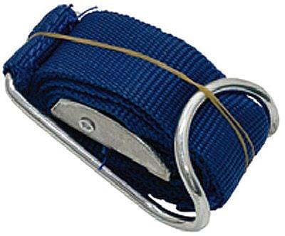 Textil-Spanngurt, blau, 1060mm lang x 25mm hoch