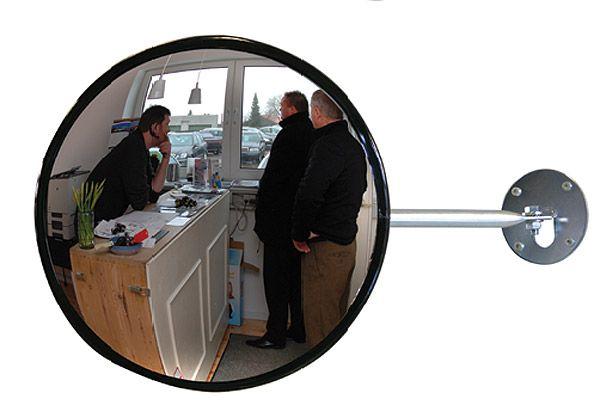 Beobachtungsspiegel Typ EC-RS mit Teleskop-Wandhalterung, Acrylglas