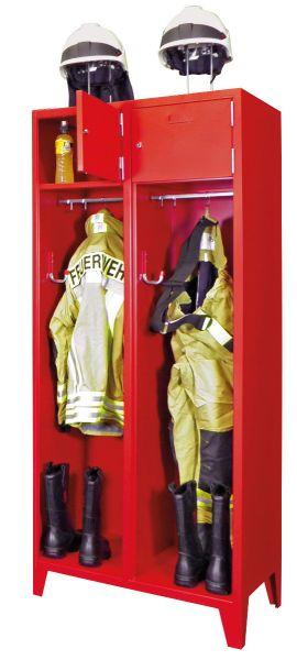 Feuerwehrschrank mit Füßen