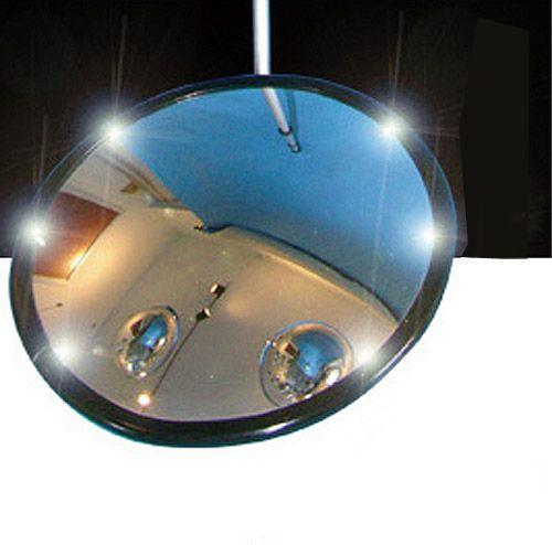 Kontollspiegel Typ KSL mit Beleuchtung, Acrylglas