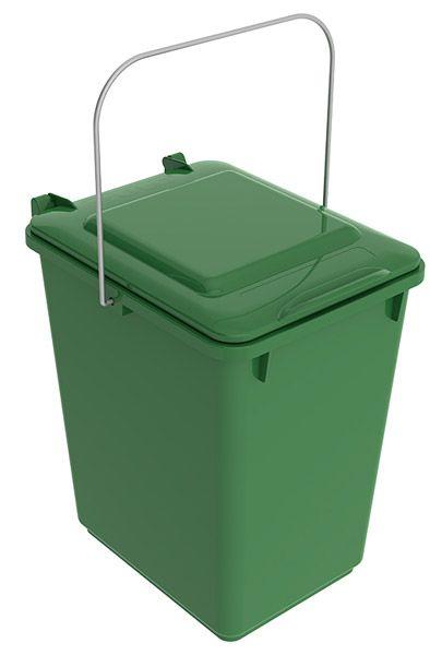 Abfallbehälter, 10 Liter, 225x275x310mm