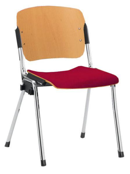 Stapelstuhl Typ R Sitz und Rücken Buche natur