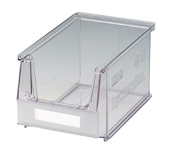 VE = 25 Sichtlagerkästen Größe 4, glasklar