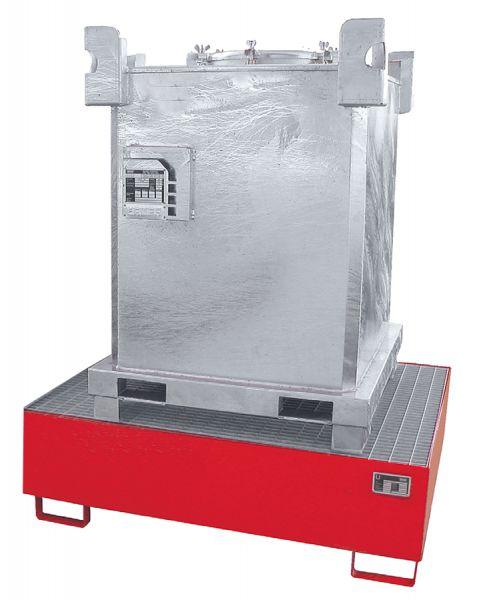 Stahlblech-Auffangwanne 1000 Liter