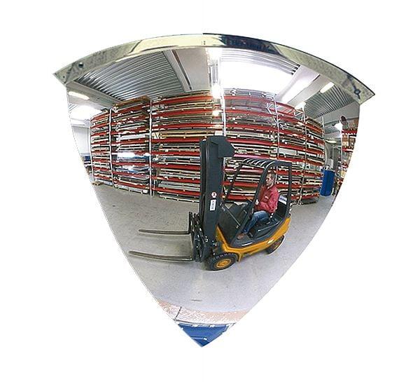 Kuppelspiegel Typ KS, 90°, Acrylglas