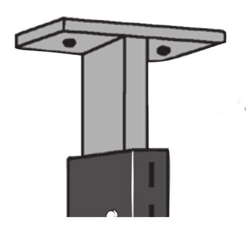 Deckenverbindung ausziehbar bis 150mm Serie K 70-BV