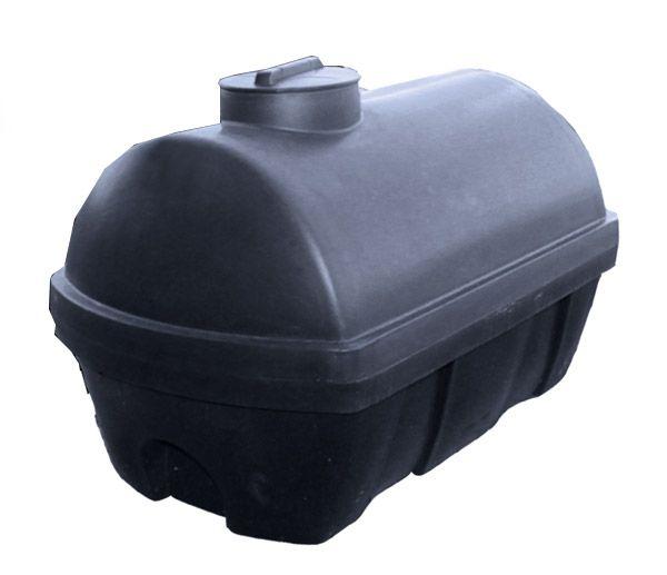 Universaltank, 600 l, schwarz, 1320x860x925mm