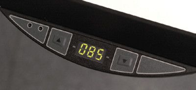 Display-Bedienelement auf/ab mit Höhenangabe, Serie crew C, -Mehrpreis-