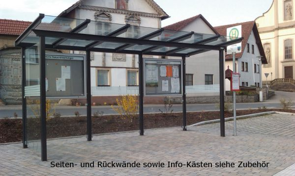 Überdachung Serie Passau