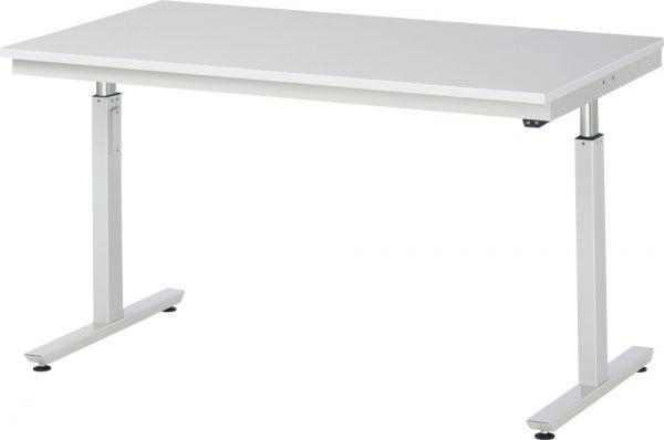 Werktisch mit EGB-Melamin-Platte, Serie adlatus 300