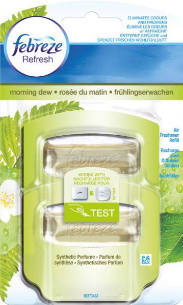 Raumspray febreze, Nachfüller Duftdepot Frühlingserwachen, Inhalt 2 x 5,5ml