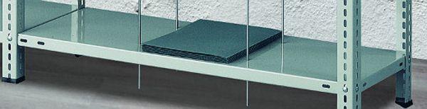 Stahlboden zusätzlich für Fädelstäbe-Regal Serie SFR