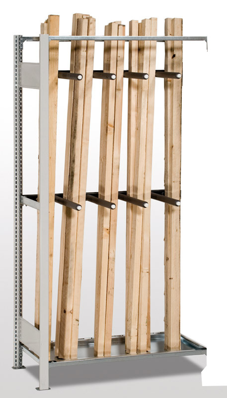 Regal im Stecksystem für stehende Lagerung, S25-STB
