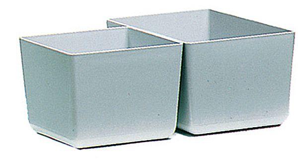 Einsatz-Kasten, 112x102x84mm, Farbe: grau, für Schubladen-Box
