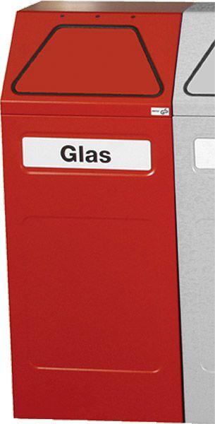 Stahl-Wertstoffbehälter mit verzinktem Innenbehälter