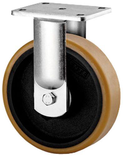 Schwerlast-Bockrolle mit Platte 135 x 110mm