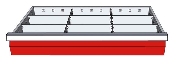 Schubladeneinsatz für Typ 12-13