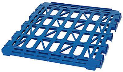 Kunststoff-Zwischenboden für Rollbehälter Typ 1 - 3, dunkelblau RAL 5010, lose einhängbar