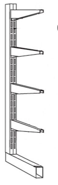 End-Seitenständer, Serie B-KF