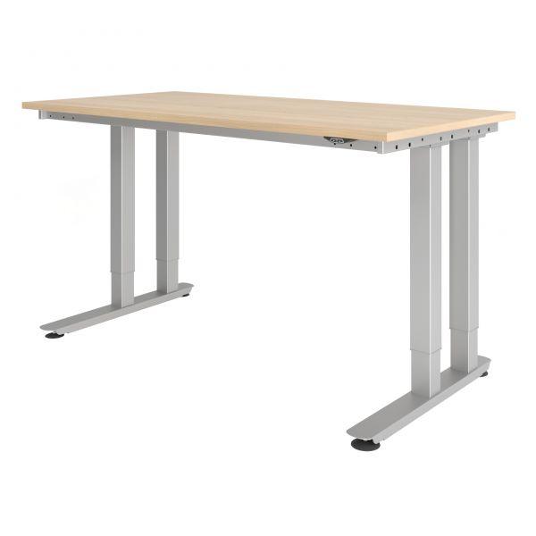 Steh-/Sitz-Arbeitsplatz Schwerlasttisch - bis 350 kg belastbar