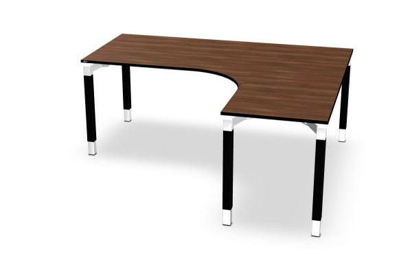 Winkel-Schreibtisch rechts Serie dataline QQ