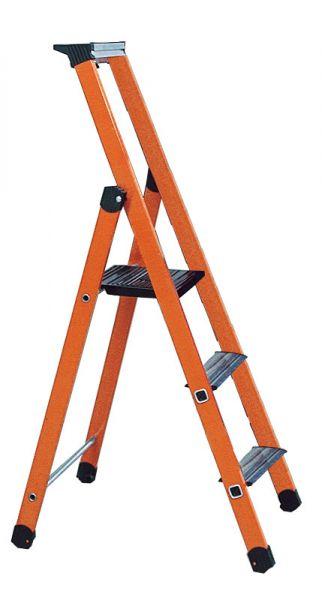 Kunststoff-Stufen-Stehleiter