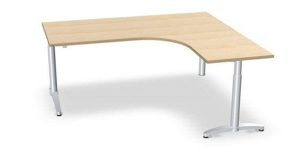 Winkel-Schreibtisch, Winkel rechts, Serie dataline-CC