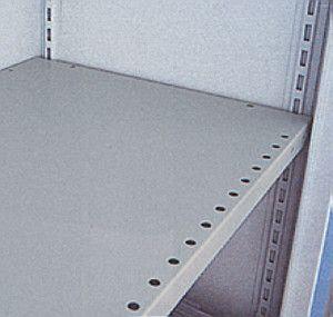 Stahlboden zusätzlich mit 4 Bödenträgern für 415mm Tiefe lichtgrau Serie 890