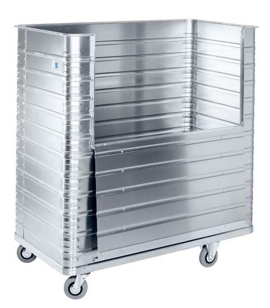 Aluminium-Kastenwagen 1050 Liter