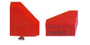 Prismenstück (Auflagewinkel) mit Vierkantstift