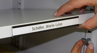 Etikettenrahmen 150mm breit