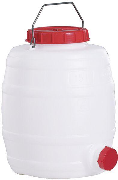 Rundfaß für 15 Liter Inhalt, ø300, H345mm