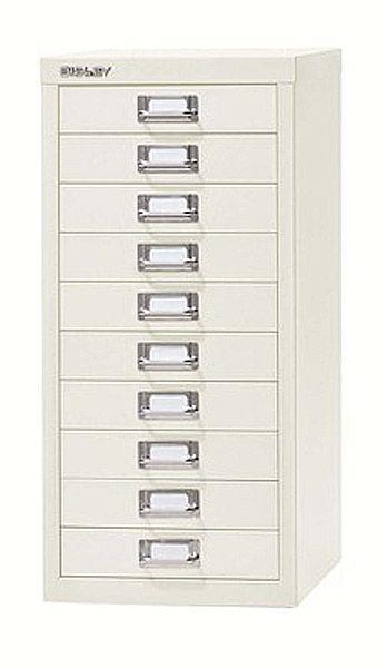 Schubladenschrank mit 10 Schubladen, B279 x H 590 X T380 mm, Serie basis