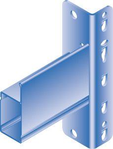 Stufen-Einhängeträger