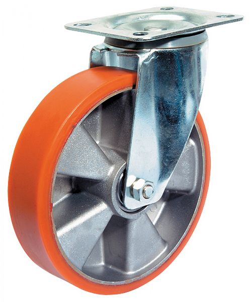 Lenkrolle Rad mit Polyurethan-Lauffläche