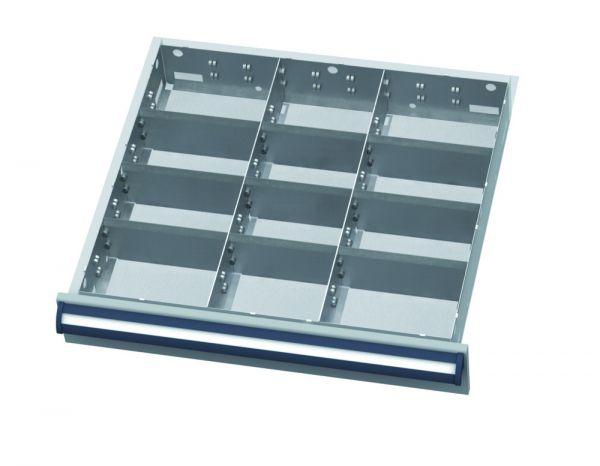 Set Stahlblech-Einteilungen Typ B600