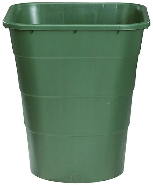 Rechteckbehälter, 300 L, grün, B 660 x T 800 x H 920mm