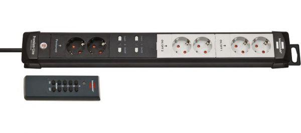 brennenstuhl Premium Line Funkschalt-Steckdosenleiste RC PL1 1001